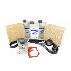 Pachet kit distributie si pompa apa (antigel) Logan 1.6 16V ORIGINAL